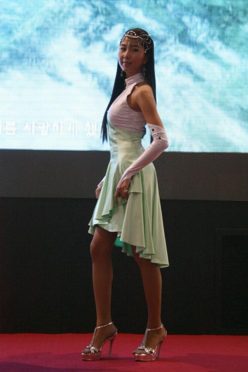 지스타2008 레이싱모델 박지영