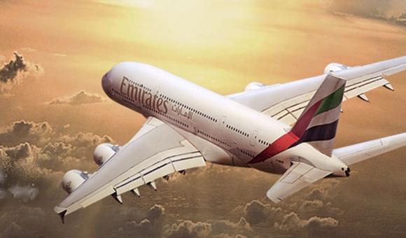 에미레이트 항공의 A380 기종 <이미지: 에미레이트 항공 홈페이지>
