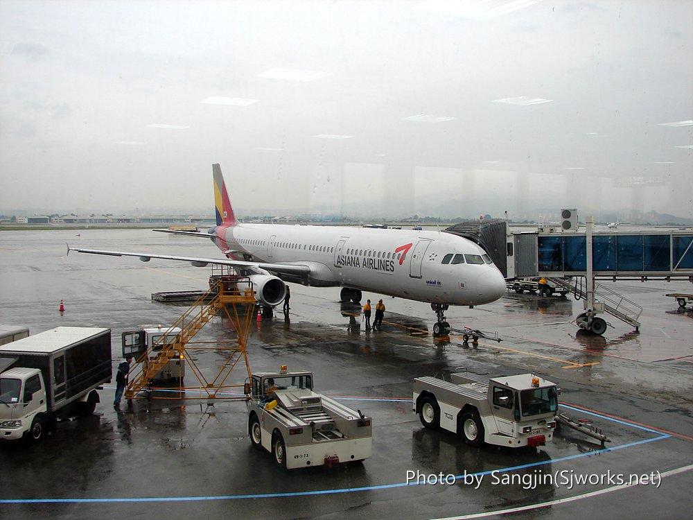 아시아나 A321-100