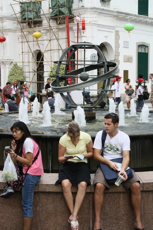 마카오 세나도 광장