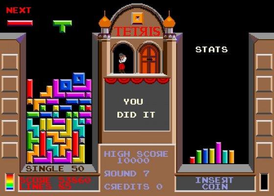 Tetris by Alexey Pajitnov