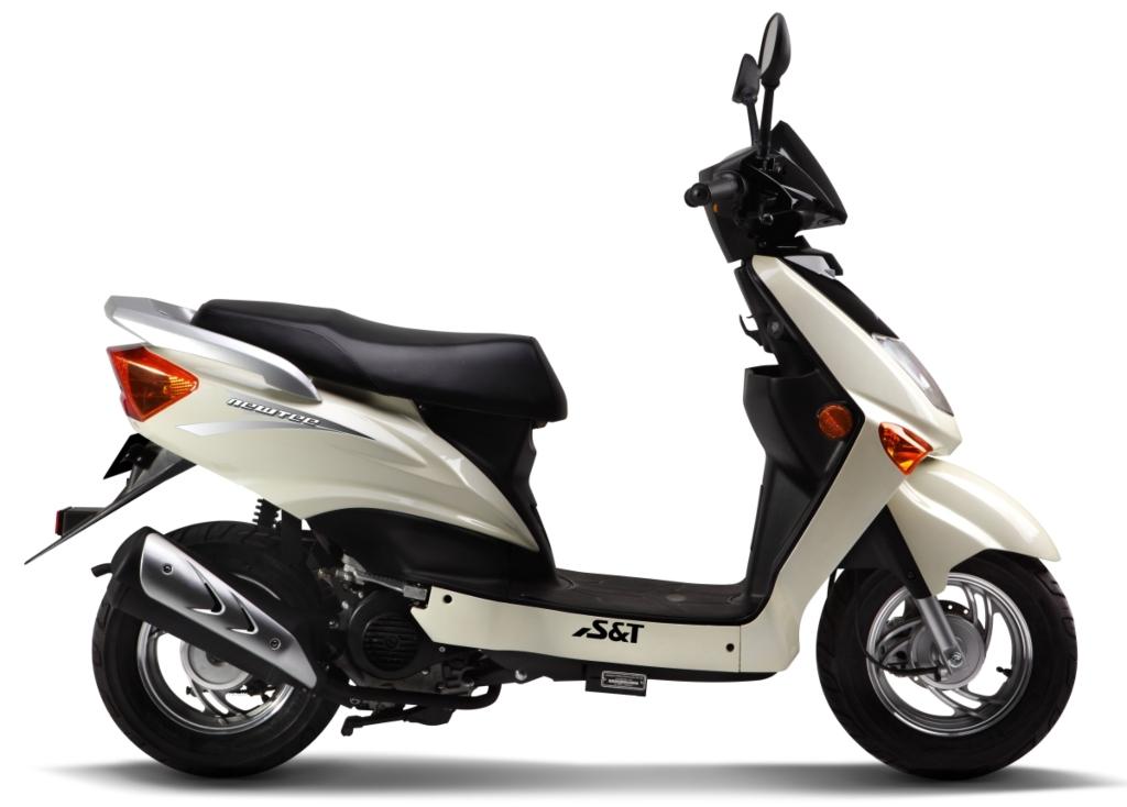 3sun 블로그 국산 최초 50cc 4행정 오토바이 스쿠터 S Amp T 뉴티50 Newtee