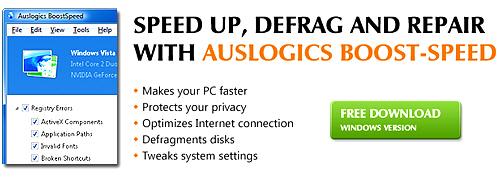 Recommend - Disk Defrag Software