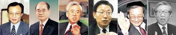 국민의 정부, 교육부 장관만 7명