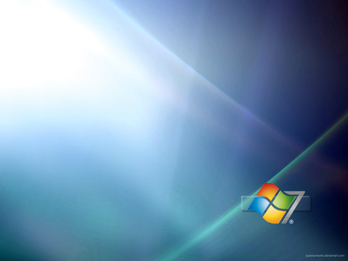Windows 7 Wallpaper by ~QuantumEcho