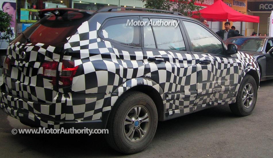 카이런 베이스 Roewe SUV