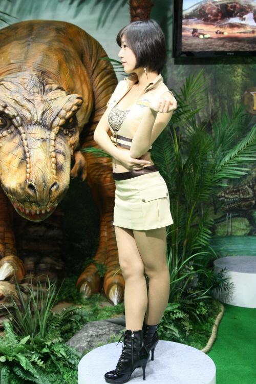지스타2008 레이싱모델 이수린