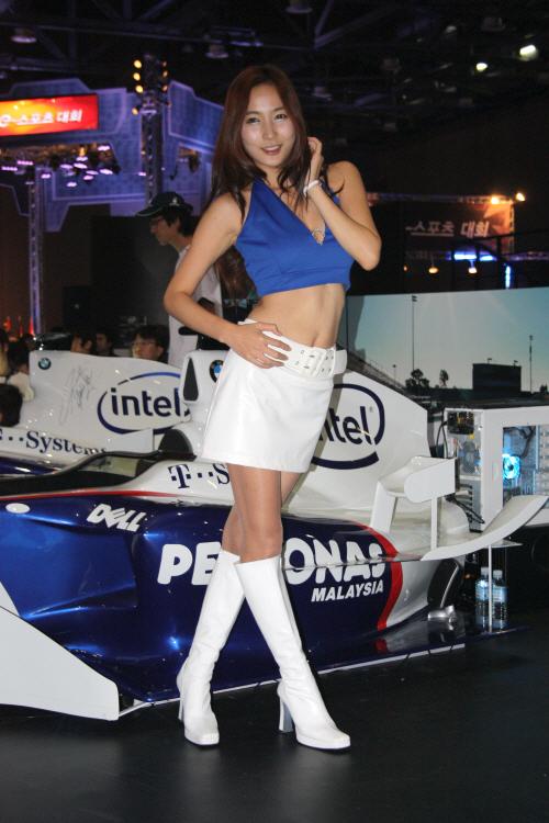 지스타2008 레이싱모델