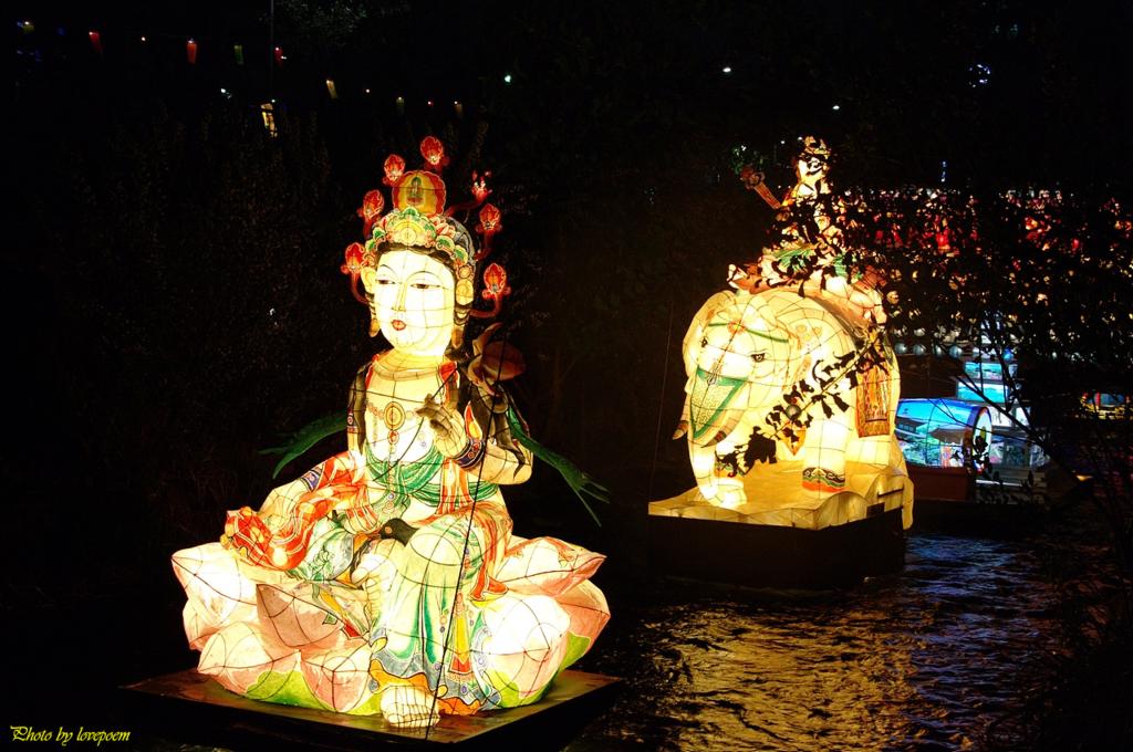 11월 22일 세번째, 청계천 세계등축제 마지막 날.