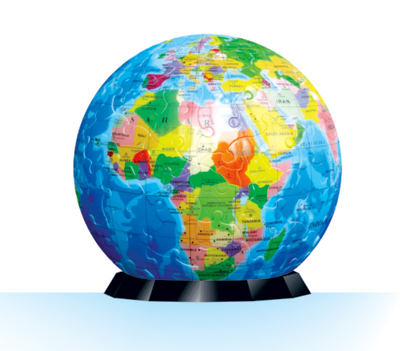 3D 퍼즐 지구본