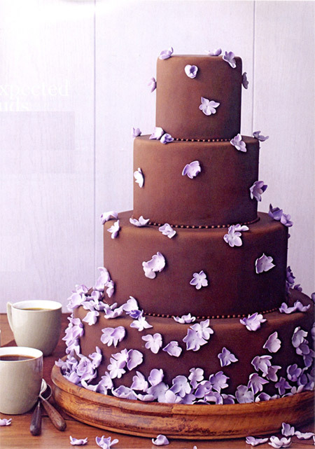 Wedding Cake Chocolat Noir