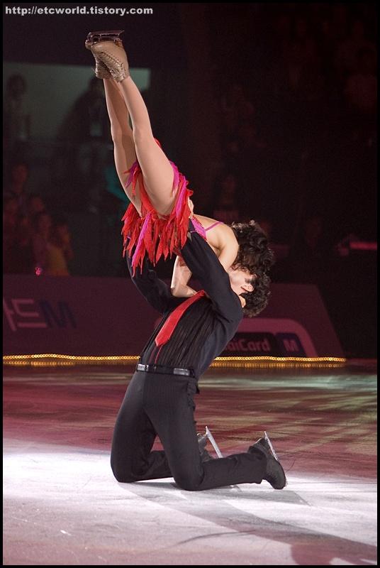 '현대카드슈퍼매치 Ⅶ - '08 Superstars on Ice' 아이스 댄싱에 참가한 마리-프랑스 뒤브뢰유 & 파트리스 로존 (Marie-France Dubreuil & Patrice Lauzon)
