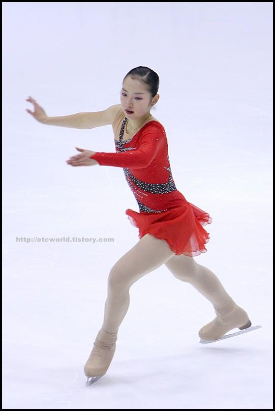 2008 전국남녀 회장배 피겨 스케이팅 랭킹대회 여자싱글 신나희 선수의 FS