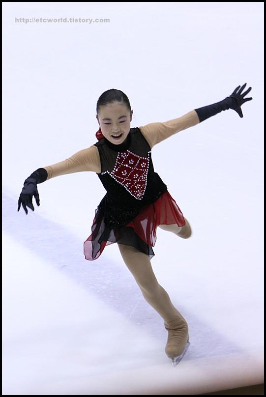 2008 전국남녀 회장배 피겨 스케이팅 랭킹대회 여자싱글 김지원 선수의 FS