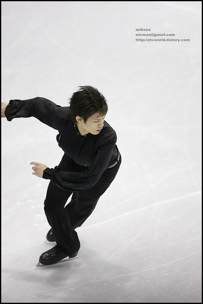 SBS ISU Grand Prix of Figure Skating Final Goyang Korea 2008/2009 2008/2009 SBS ISU 고양 피겨스케이팅 그랑프리 파이널 대회 Senior Men - Short Program Takahiko KOZUKA 小塚崇彦